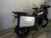 2019 BMW R1250 GS EXCLUSIVE TE WITH MATCHING BMW PANNIERS ENGINE BARS