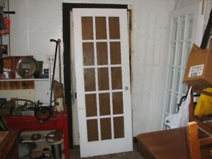 three french doors one set of two one single
