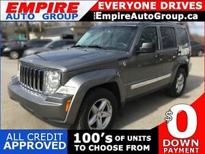 2012 JEEP LIBERTY LIMITED   4WD   LEATHER   BLUETOOTH   CRUISE C