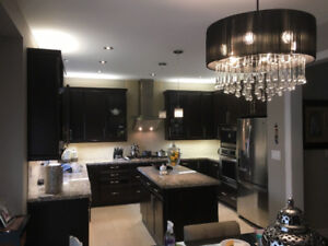 Kitchen Cabinets solid maple wood and Granite
