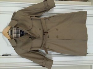 BURBERRY Junior Trench Coat color trench 116 cm Age 6/7 Unisex