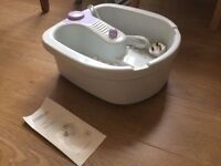 Morphy Richards Footspa for sale second hand but never been used