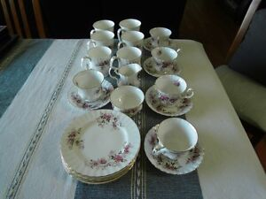 24 peices of Royal Albert Lavender Rose china