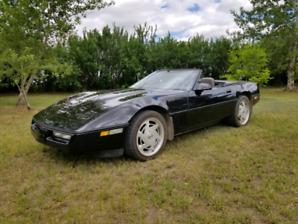 1988 Corvette Convertible low kms