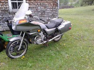Honda cx 500 sylverwing