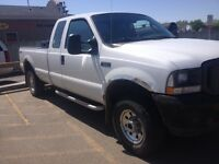 2004 Ford F-250 4x4 ext cab..