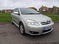 2005 05 TOYOTA COROLLA 1.6 T3 COLOUR COLLECTION VVT-I 5D AUTO 109 BHP