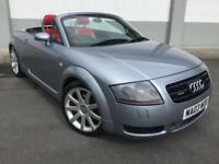 2003 Audi TT Roadster 225bhp Quattro **Cherry Red Leather - 61,000 Miles FSH**
