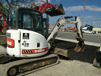 Bobcat 430 2HS Excavator with Hydraulic Thumb