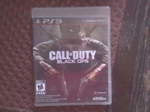 Jeu Call of Duty Black Ops pour playstation 3   10$