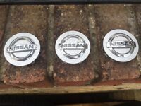 Nissan alloy cap