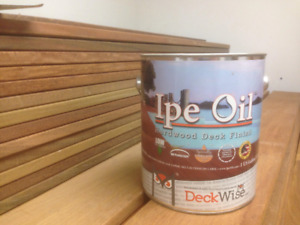 IPE OIL - For ipe and hardwood decking
