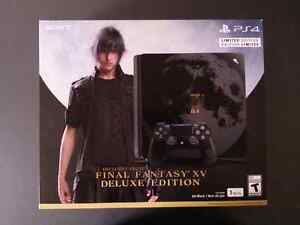 Final Fantasy XV PS4 Limited Edition console. Kitchener / Waterloo Kitchener Area image 1
