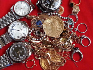 $$$$$$ WE BUY GOLD, SILVER, WATCHES, ACHETONS, MONTRES, BIJOUX