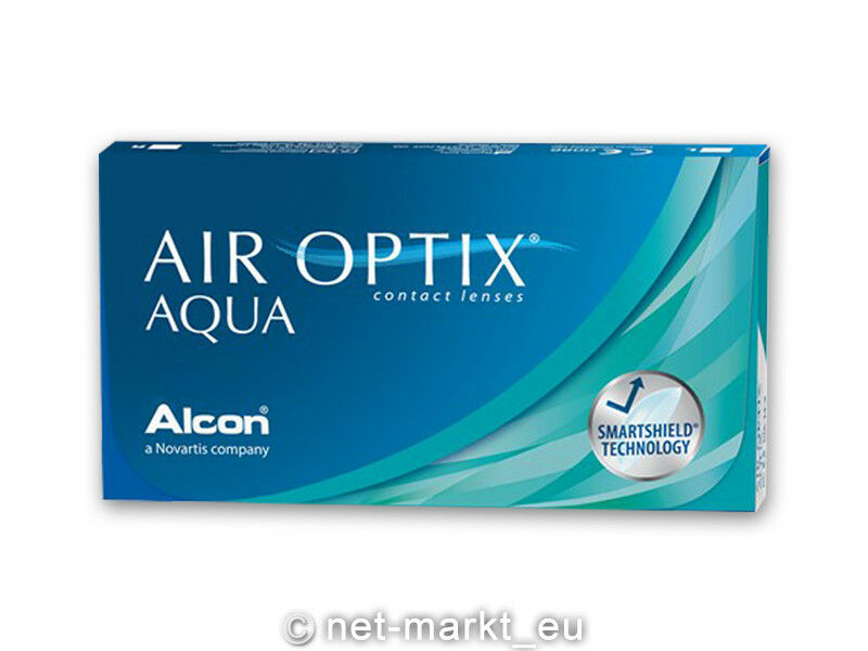Air Optix Aqua  1 x 6  Alcon Kontaktlinsen - Neu&OVP - 1