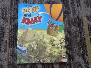 SCHOLASTIC BOOK UP, UP, AND AWAY ROUND THE WORLD ADVENTURE