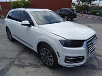 breaking audi q7 front end only