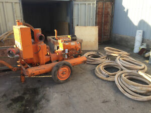 "Diesel 6"" Pump Jetting Wellpoint Dewatered Trash Pump"