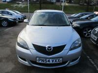 2004 Mazda Mazda3 Hatch 5Dr 1.6 105 TS Petrol silver Manual
