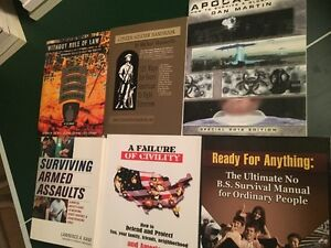 6 PAPERBACK BOOKS_SURVIVING DISASTER AND HOW TO'S Sarnia Sarnia Area image 2