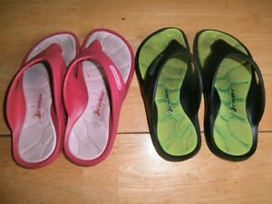 Children's Flip Flops Size 13 and 1