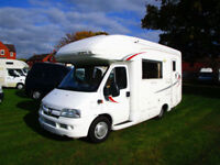 Autosleeper Inca four berth motorhome with end bathroom & over cab bed for sale