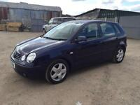 VOLKSWAGEN POLO 2004/53 1.6 MY SPORT 100 PETROL - MANUAL - LOW MILEAGE