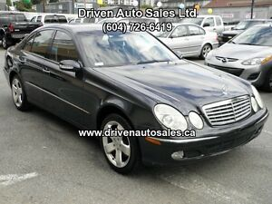 2003 Mercedes-Benz E-Class E500 Airsuspension Xenon Push Start