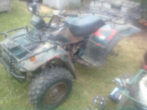 1991 Suzuki Quad Runner 250 4x4 Part out or Sell Complete