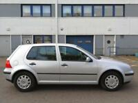 Volkswagen Golf 1.6 One Lady Owner 45000 miles 1 Year Mot Full Service History