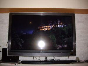 EXCELLENT WORKING CONDITION SONY 46 INCH 1080 LCD TV FOR SALE $4