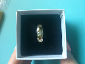 Canadian Diamond/Gold Ring For Sale