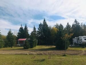 2019 Seasonal Campsite at Bouctouche Baie Chalets & Camping