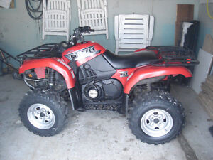 yamaha grizzly et outlander 400