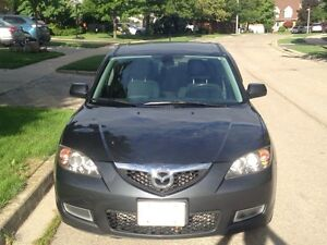 2008. Mazda3. No rust. Only owner. Safety etest