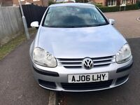VW golf 1.4 S 2006 low mileage! Beautiful car! 12 months mot,taxed and insured! AA/rac welcome