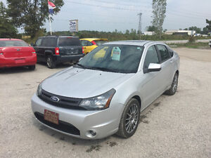 SALE! 2010 Ford Focus SES Auto Safety & Etested! Loaded! 143 K's Windsor Region Ontario image 1