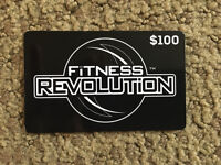 Fitness Gym Gift Card