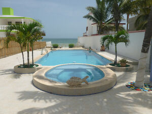 water front home for sale chelem yucatan mexico
