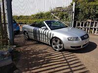 Audi convertible full years mot may swap
