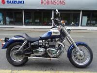 2007 07 Reg Triumph Bonneville America 865 loud pipes two tone paint