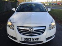 Vauxhall Insignia SRi 1.8i 16v VVT (white) 2013
