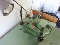 Industrial sewing machine, blind hem