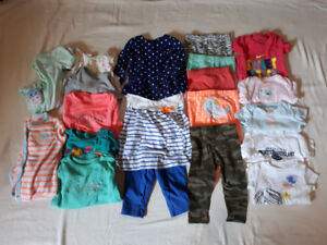 Lot of Baby Clothes Size 6 Months In Like New Condition.