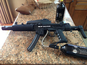 Selling BT Delta Elite Paintball Gun and Accessories