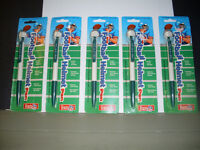 Miami Dolphins Helmut Pens In Package (5) 1994