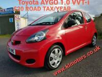 Toyota AYGO 1.0 VVT-i - £20 ROAD TAX/YEAR - 2 FORMER KEEPERS