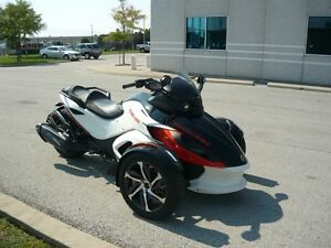 2015 Can-Am Spyder RS-S 5-Speed Semi Automatic (SE5)