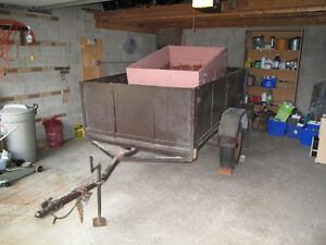 "Trailer for sale -- 53"" x 99"" inside dimensions"