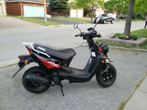 2006 Yamaha BWs 50 with 1,600 km only!